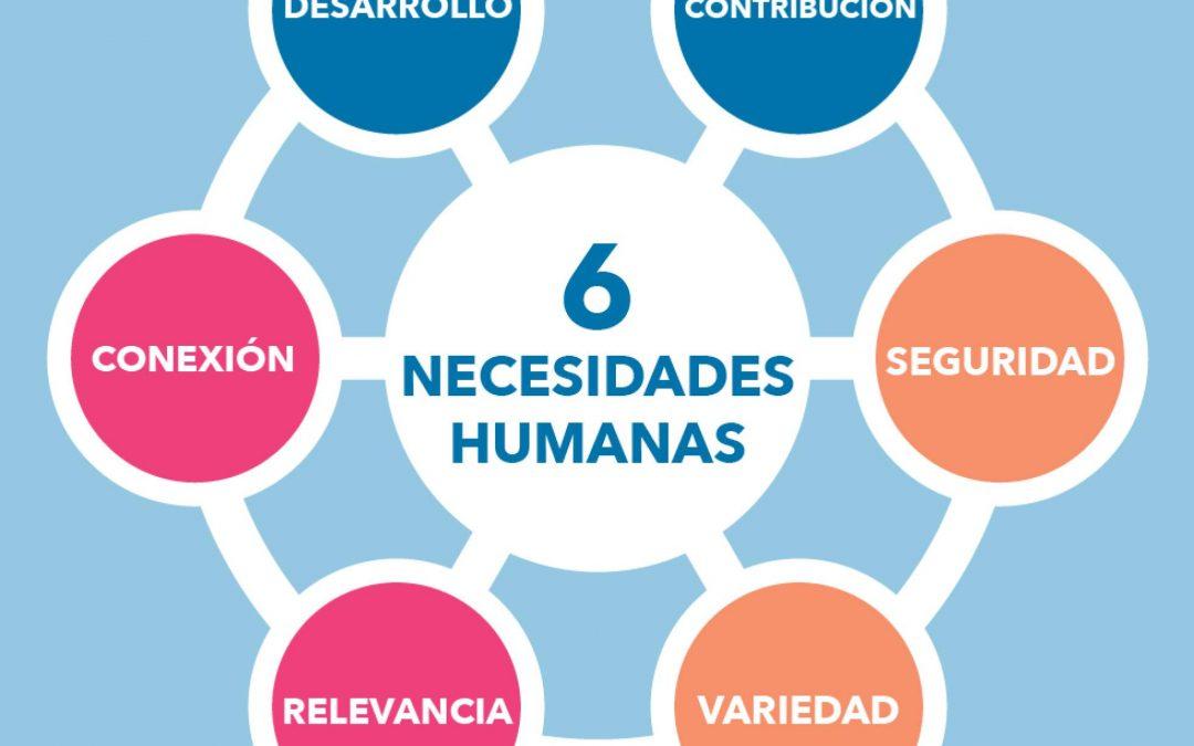 Las 6 necesidades que tenemos los humanos