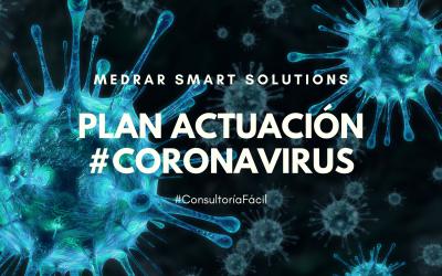 Te ayudamos con un plan de actuación frente a la crisis del #coronavirus